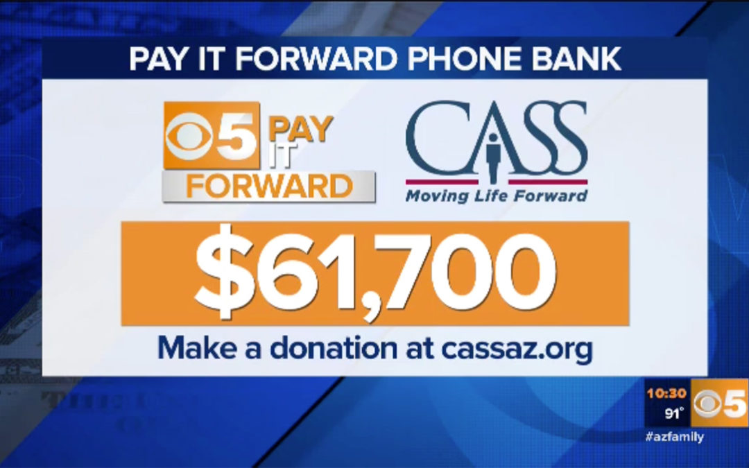 CBS 5 Pay It Forward Telethon